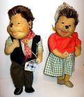 MECKI P�rchen Mecki & Micki / Dresdner K�nstler Puppen 50/60er DDR ca.36cm (L)