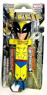 KLIK Wolverine Süßigkeiten-Spender Marvel Au'some Candies ca.11cm OVP (K14)