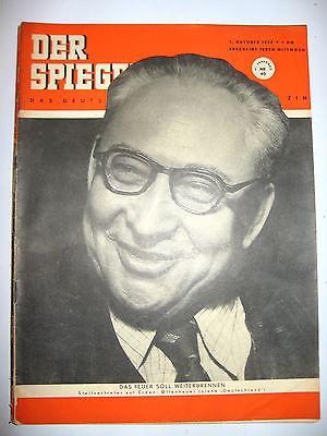 Der spiegel 37 9 1949 zeitschrift heft hannelore for Der spiegel aktuelles heft