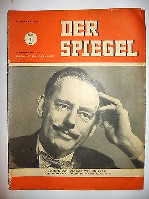 Der spiegel 3 01 1949 tv zeitschrift heft dean for Der spiegel aktuelles heft