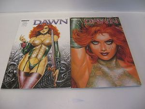 DAWN  Band 1 + 2   / Infinity  Verlag  Softcover  Zustand : 1 -  ( L )