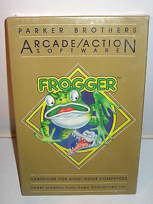 ATARI 400, 800, 1200XL - FROGGER Spiel ~ Original Eingeschweißt (K28)