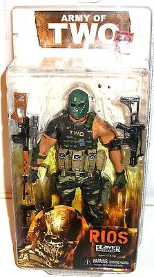 ARMY OF TWO The 40th Day - Rios Actionfigur NECA ca.17cm NEU (L) 0