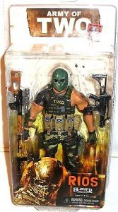 ARMY OF TWO (The 40th Day) Rios Actionfigur NECA ca.17cm NEU (L) 0
