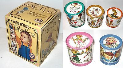 Valley HOLLY HOBBIE Pile-Ups Tin Stacking Toy Blechspielzeug Sarah Kay  1976 K28