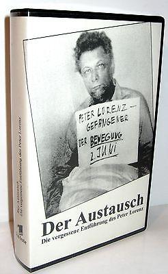 DER AUSTAUSCH  die vergessene Entführung des Peter Lorenz  VHS Kassette ARD *K46