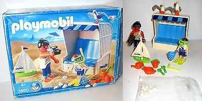 PLAYMOBIL 3660 Strandkorb Set (mit Figuren etc.) mit OVP (K46)