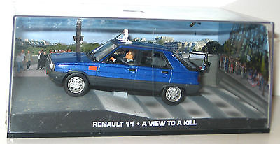 JAMES BOND - A View to Kill : Renault 11 Modellauto 1/43 #12 *K51