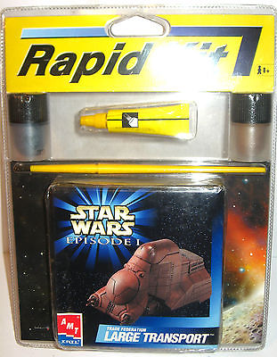 Amt ERTL STAR WARS Episode I - Large Transport Modellbausatz Rapid Kit NEU (K52)