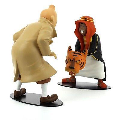 TIM & STRUPPI Tintin et Abdallah face à face Figur MOULINSART Limitiert NEU (L)* 0