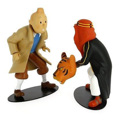 TIM & STRUPPI Tintin et Abdallah face à face Figur MOULINSART Limitiert NEU (L)* 1