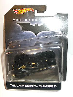 BATMAN The Dark Knight - Batmobile Auto Spielzeugauto HOT WHEELS ca.9cm Neu (L)