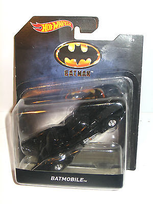 BATMAN - Batmobile Auto Spielzeugauto HOT WHEELS ca.12cm Neu (L)