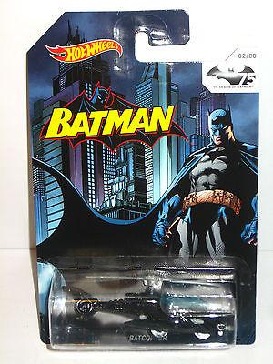 BATMAN 75 Years of Batman - BATCOPTER Helicopter Auto HOT WHEELS Neu (L)