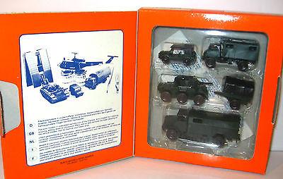 ROCO Minitanks - 383 BGS-Set Modellauto Panzer H0 mit OVP (K46)