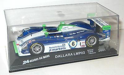 IXO Altaya - Dallara LMP02 2004 Modellauto 1:43 - #06 (K25)