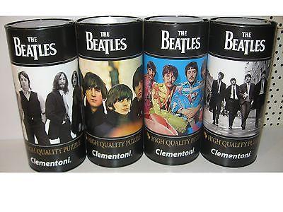 The Beatles  4 Puzzle Puzzel á  500 Teile  Clementoni Geschenkdose Neu   ( KB )