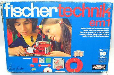 FISCHERTECHNIK 230 5 em 1 : Elektromechanik Grundkasten - mit OVP (K52)