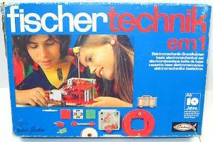 FISCHERTECHNIK 230 5 em 1 : Elektromechanik Grundkasten - mit OVP (K52) 0