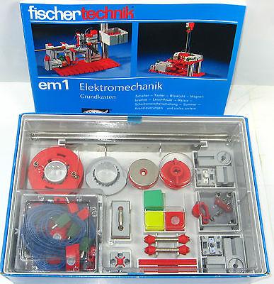FISCHERTECHNIK 230 5 em 1 : Elektromechanik Grundkasten - mit OVP (K52) 1