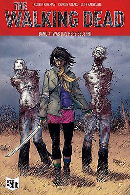 THE WALKING DEAD # 4 - Was das Herz begehrt SC CROSS x CULT Comic NEU (L)
