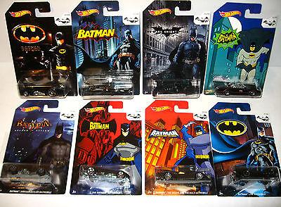 BATMAN 75 Years of Batman - 8er Set Spielzeugautos Auto HOT WHEELS Neu (K55) 0