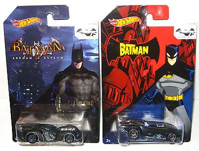 BATMAN 75 Years of Batman - 8er Set Spielzeugautos Auto HOT WHEELS Neu (K55) 3