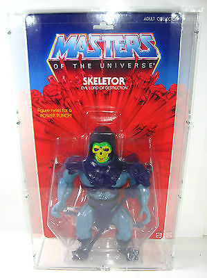 MASTERS OF THE UNIVERSE Giant - Große Skeletor Actionfigur + Acryl-Box Neu (L)
