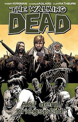 THE WALKING DEAD # 19 - Auf dem Kriegspfad / Comic Gebunden CROSS x CULT (L)
