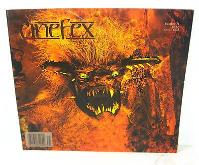 CINEFEX # 71 Film Magazin - Batman & Robin SPAWN Speed JOHN CHAMBERS (B6)