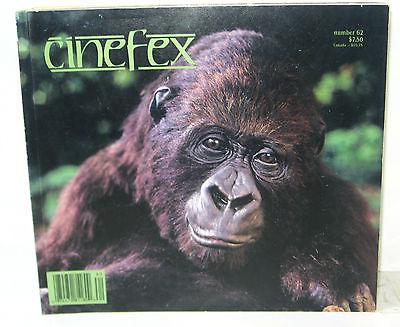 CINEFEX # 62 Film Magazin - Jeff Matakovich JUDGE DREDD Dick Smith (B6)