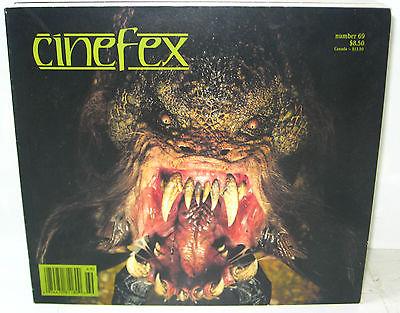 CINEFEX # 69 Film Magazin - Dante's Peak THE RELIC Star Trek STAR WARS (B6)