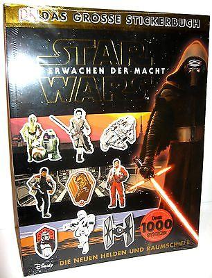 STAR WARS Das Erwachen der Macht - Stickerbuch (über 1000 Sticker) Heft NEU (B6)