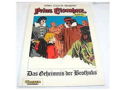 Prinz Eisenherz  63 Das Geheimnis der Beothuks   1. Aufl. Carlsen SC  Z : 2 (L)