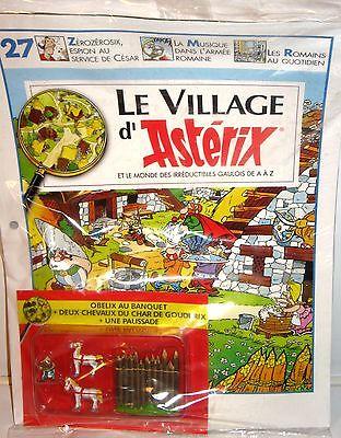 Das galische Dorf ASTERIX  Heft   27 + PIXI Figur Set  Obelix  ATLAS Neu (K22)