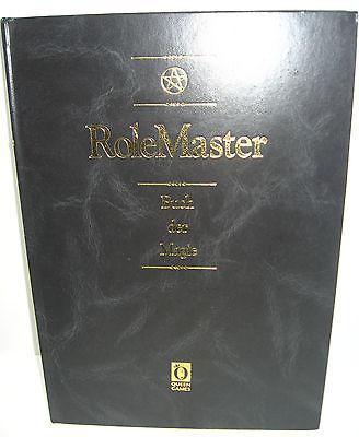 ROLE MASTER Buch der Magie 5.Auflage ROLLENSPIEL Buch QUEEN GAMES (B1)
