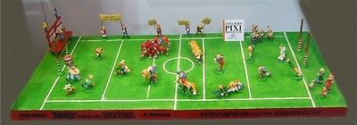 ASTERIX  &  OBELIX   Figurenensemble  Rugby Spiel  PIXI  Limitiert NEU (L)