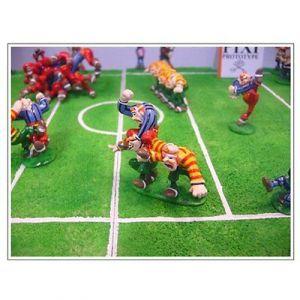 ASTERIX  &  OBELIX   Figurenensemble  Rugby Spiel  PIXI  Limitiert NEU (L) 3