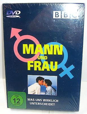 MANN UND FRAU - Was und wirklich unterscheidet 3 DVD 's BBC Neu (WR8)