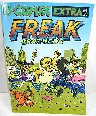 U-COMIX EXTRA Heft 2  Freak Brothers Comic SC VOLKSVERLAG LINDEN (WR6)