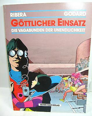 DIE VAGABUNDEN DER UNENDLICHKEIT Göttlicher Einsatz Comic SC FEEST Godard (L)