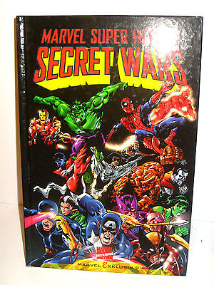 Marvel Exklusiv MARVEL SUPER HEROES # 9 - Secret Wars Comic HC MARVEL COMICS (L)