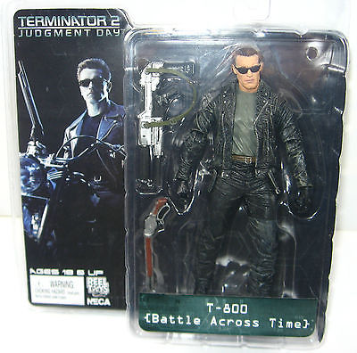 TERMINATOR 2 Judgment Day - T-800 Battle Across Time Actionfigur NECA Neu (L)