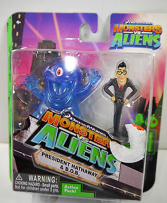 MONSTERS vs ALIENS President Hathaway & B.O.B. Figur Set JOKER Neu (K45)