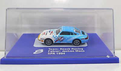 EURO MODELL 01307 Porsche 911 Roock Racing Jochen Mass 1994 1:87 Modellauto *K18