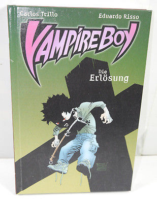 VAMPIRE BOY Band 3   Die Erlösung Comic Gebunden CROSS X CULT (WR6)