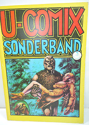 U-COMIX Sonderband 3 - Richard Corben Comic VOLKSVERLAG (B4)