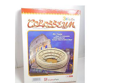 CubicFun 3D Puzzle Colosseum  World´s great Architecture  84 Teile Neu OVP