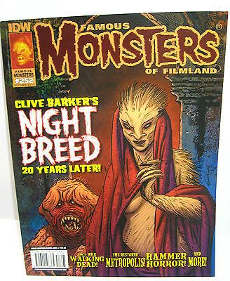 FAMOUS MONSTERS OF FILMLAND # 252 Zeitschrift / Clive Barker Walking Dead *B7