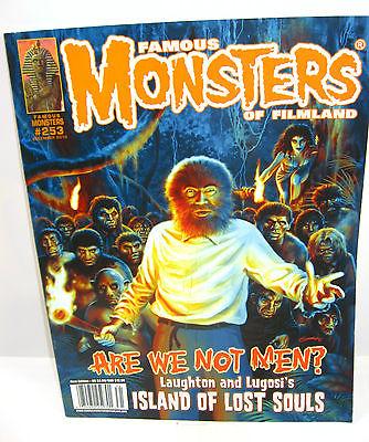 FAMOUS MONSTERS OF FILMLAND # 253 Zeitschrift Guillermo del Toro Walking Dead B7